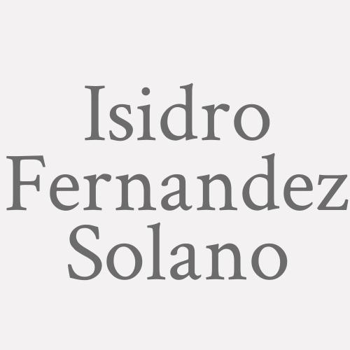 Isidro Fernandez Solano