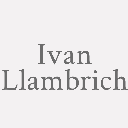 Ivan Llambrich