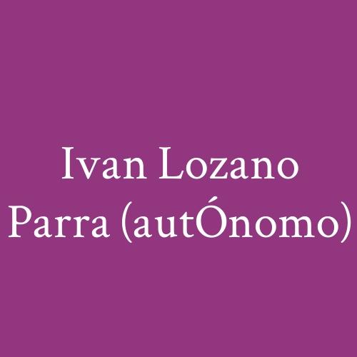 Construcciones Ivan Lozano Parra (Autónomo)