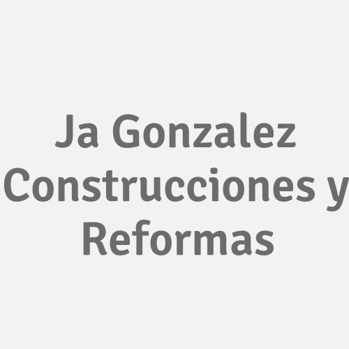 J.a Gonzalez Construcciones Y Reformas