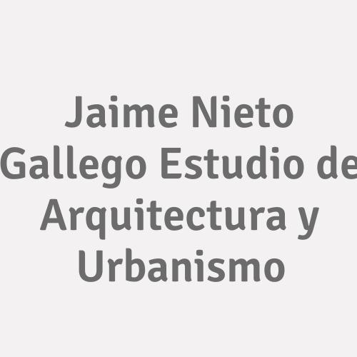 Jaime Nieto Gallego  Estudio De Arquitectura Y Urbanismo
