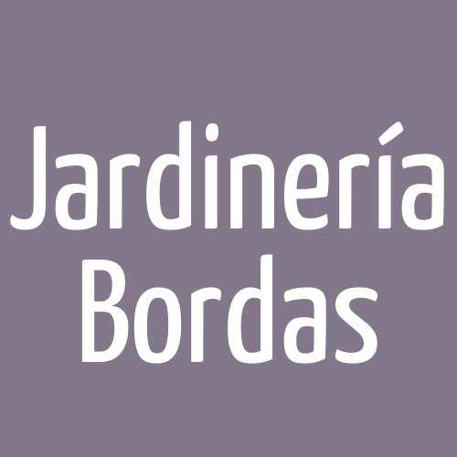 Jardinería Bordas