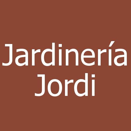 Jardinería Jordi