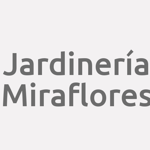 Jardinería Miraflores