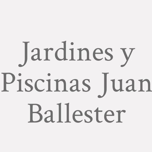 Jardines y Piscinas Juan Ballester