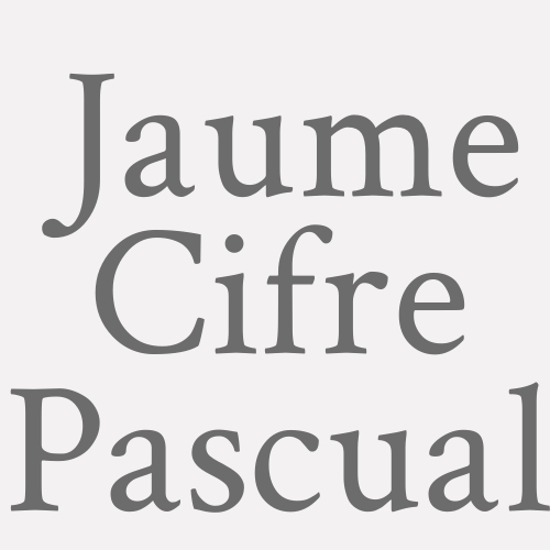Jaume Cifre Pascual