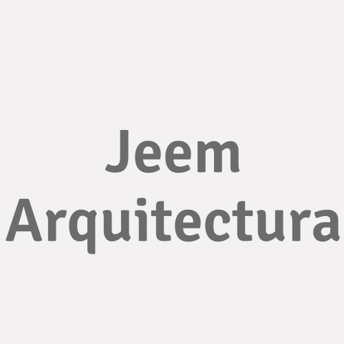Jeem Arquitectura