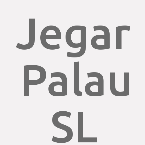 Jegar Palau Sl