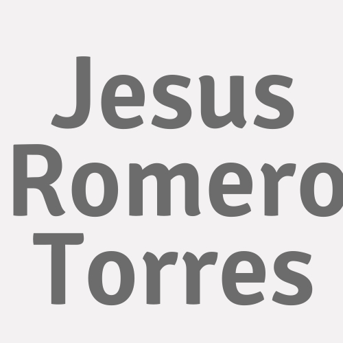 Jesus Romero Torres
