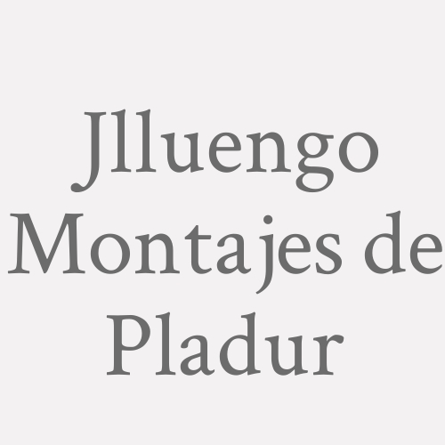 J.l.luengo Montajes De Pladur