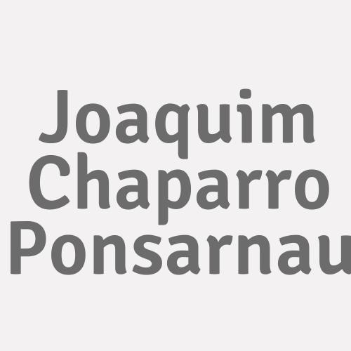 Joaquim Chaparro Ponsarnau