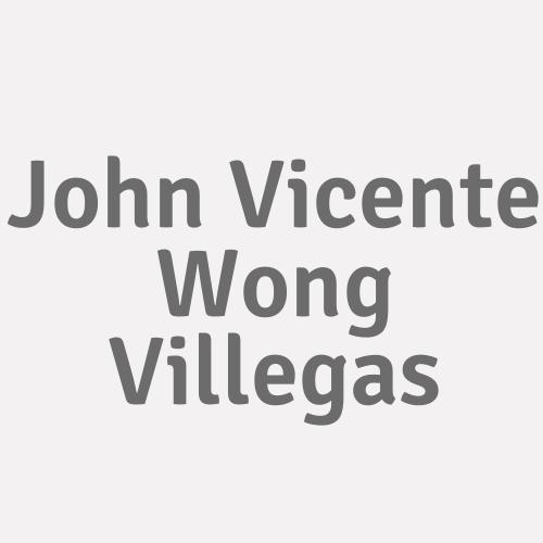 John Vicente Wong Villegas