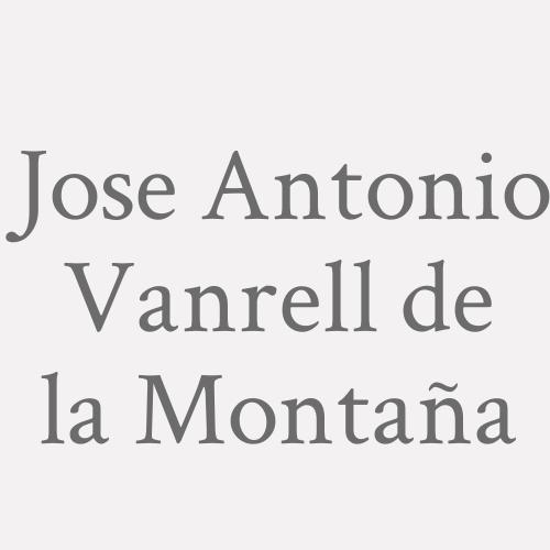 Jose Antonio Vanrell De La Montaña