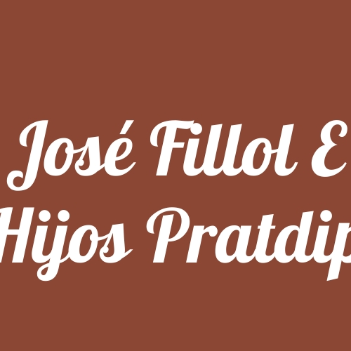 José Fillol e Hijos Pratdip