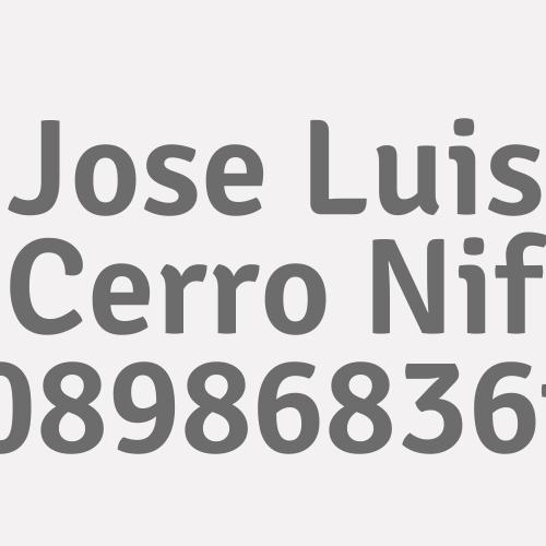Jose Luis Cerro