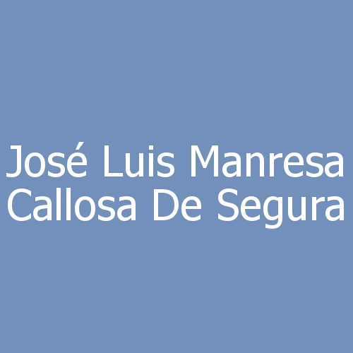 José Luis Manresa Callosa de Segura