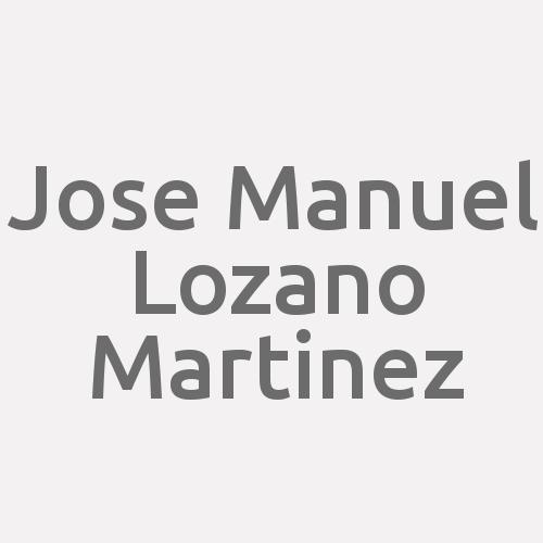 Jose Manuel Lozano Martinez