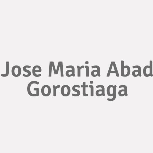 Jose Maria Abad Gorostiaga