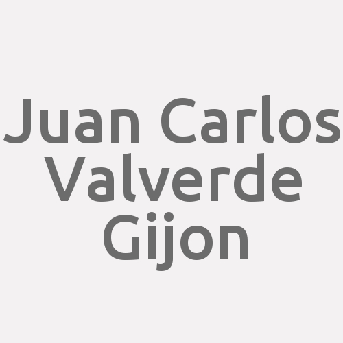 Juan Carlos Valverde Gijon