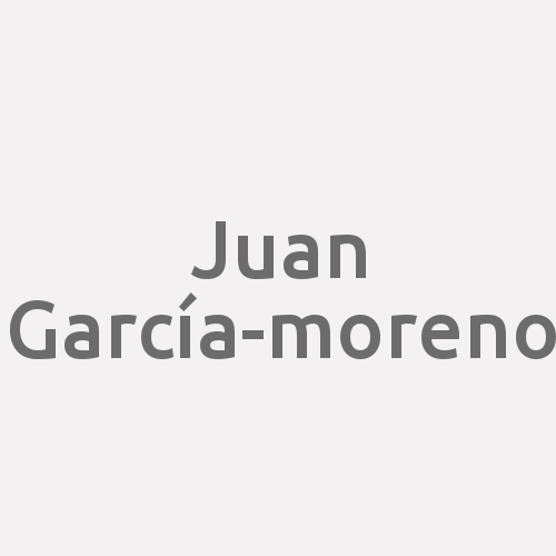 Juan García-moreno