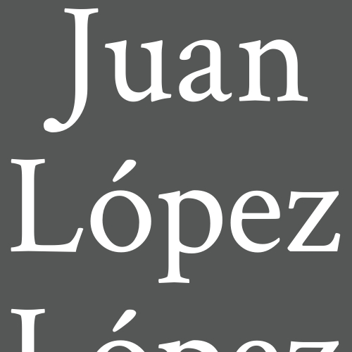 Juan López López