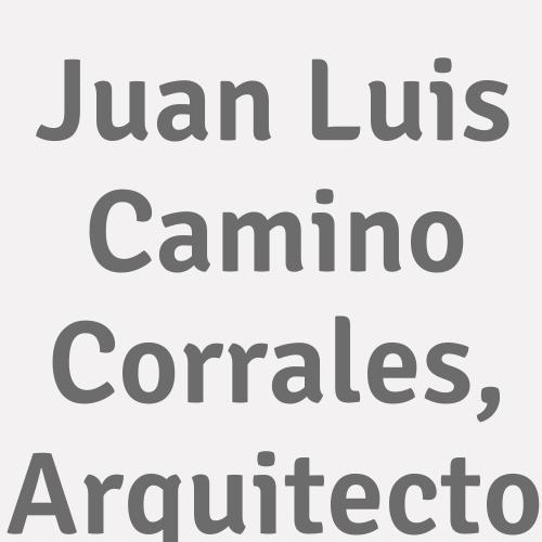 Juan Luis Camino Corrales, Arquitecto