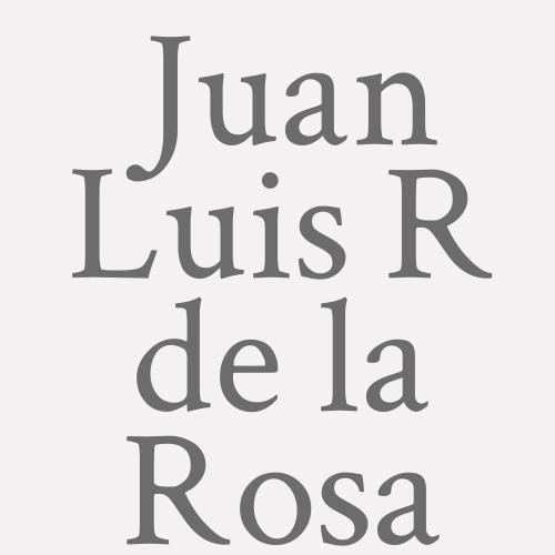 Juan Luis R. De La Rosa