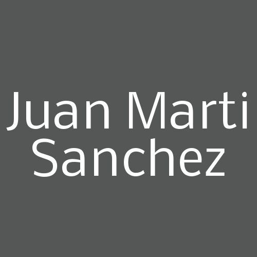 Juan Marti Sanchez