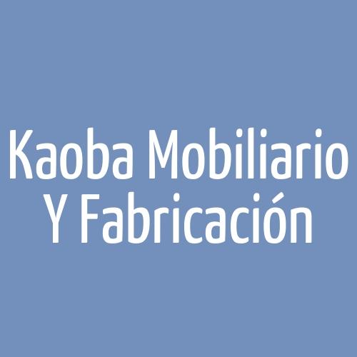 Kaoba mobiliario y fabricación