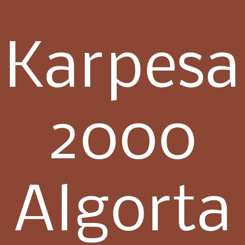 Karpesa 2000 Algorta