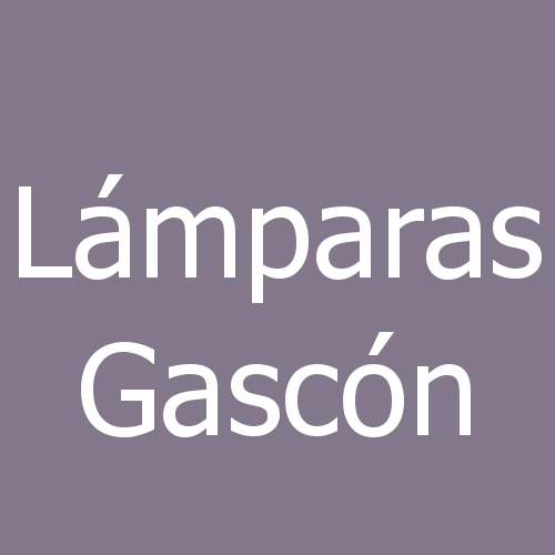 Lámparas Gascón