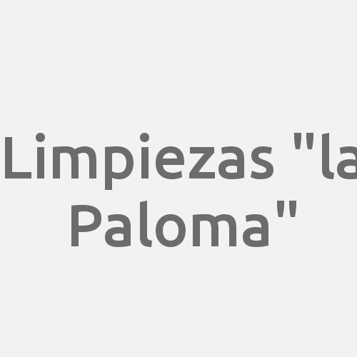 """Limpiezas """"la Paloma"""""""