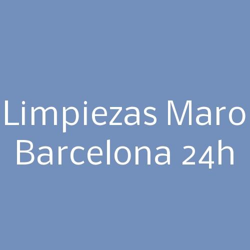 Limpiezas Maro Barcelona 24h