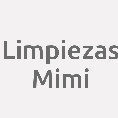 Limpiezas Mimi