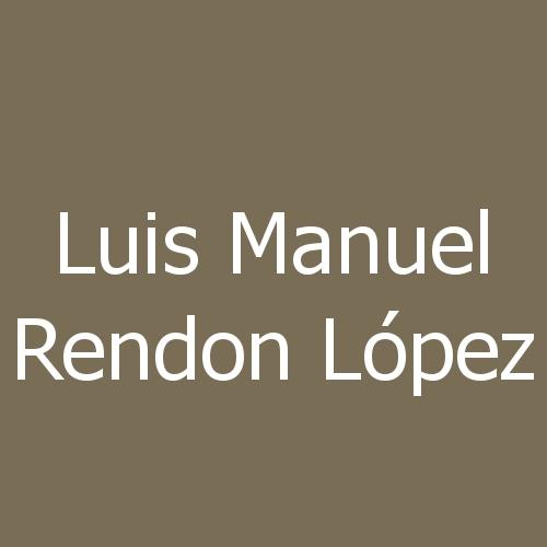 Luis Manuel Rendon López
