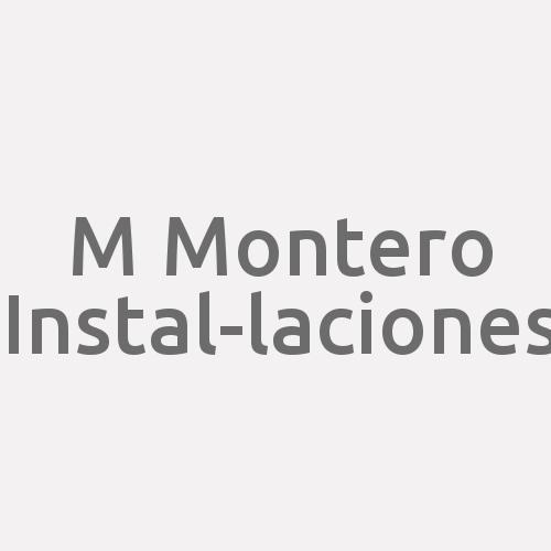 M. Montero Instal-laciones