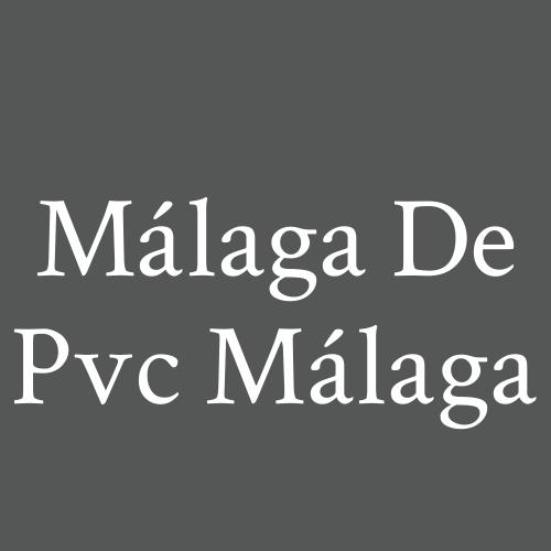 Málaga de PVC Málaga