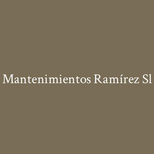 Mantenimientos Ramírez SL