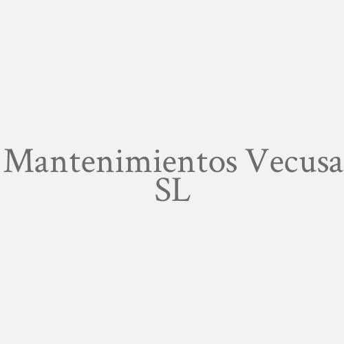 Mantenimientos Vecusa SL