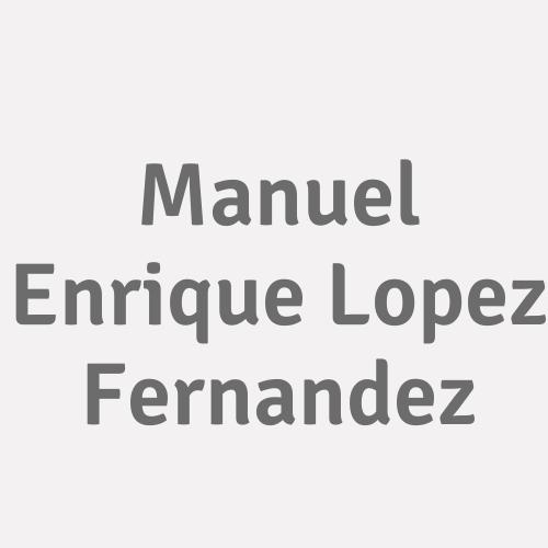Manuel Enrique Lopez Fernandez
