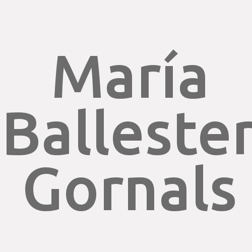 María Ballester Gornals