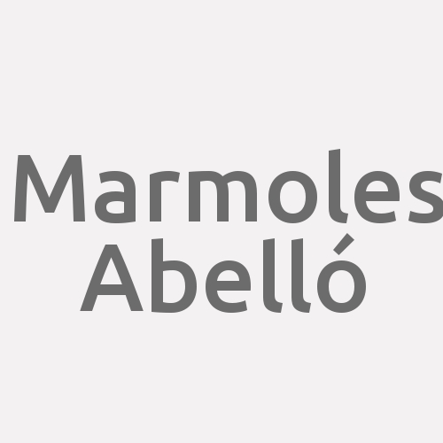 Marmoles Abelló