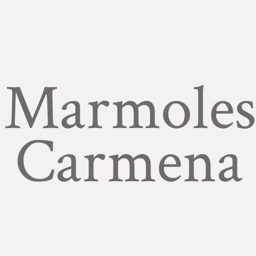 Marmoles Carmena