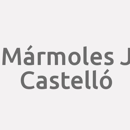 Mármoles J Castelló
