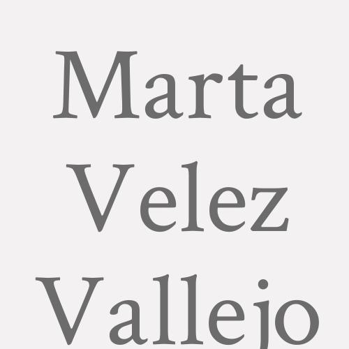 Marta Velez Vallejo