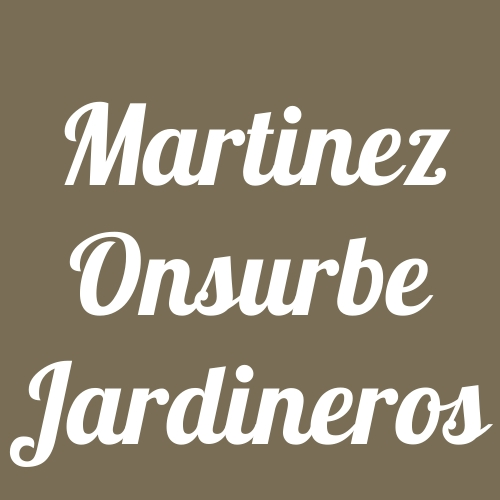 Martinez Onsurbe Jardineros