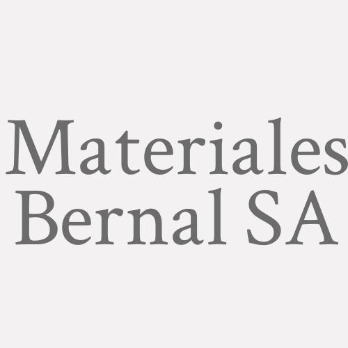 Materiales Bernal SA