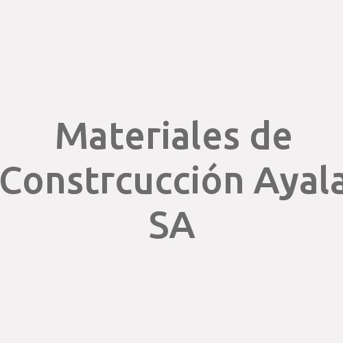Materiales de Constrcucción Ayala SA