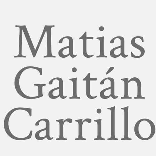 Matias Gaitán Carrillo