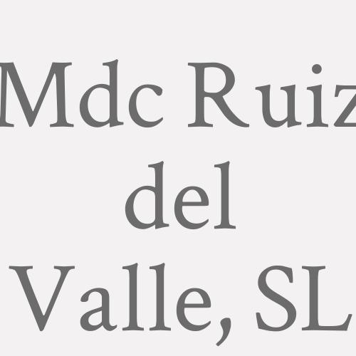 M.d.c. Ruiz Del Valle, S.l